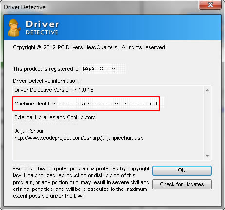 registration key for driver detective