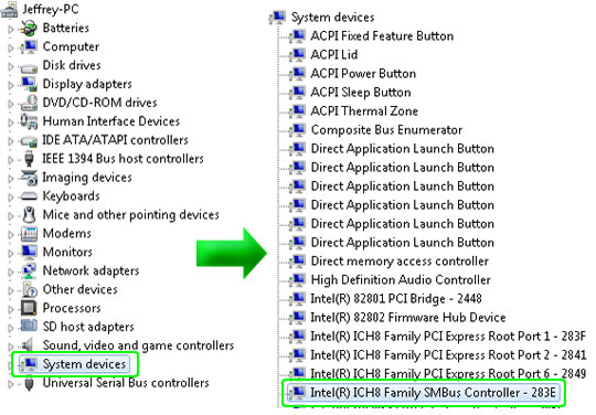 Windows 7 Chipset Device Driver Update Example